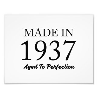 Made In 1937 Art Photo