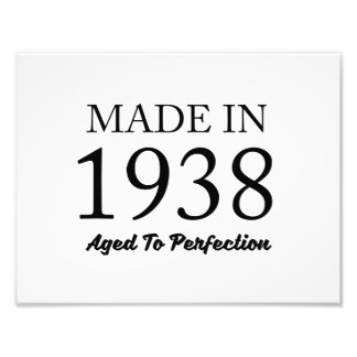 Made In 1938 Art Photo