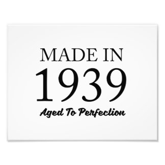 Made In 1939 Photo Art