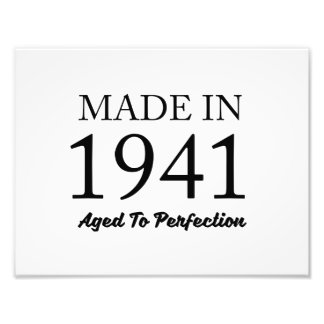 Made In 1941 Art Photo
