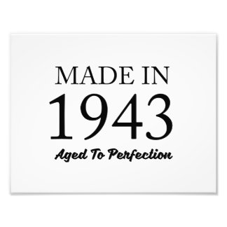 Made In 1943 Art Photo