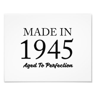 Made In 1945 Photographic Print