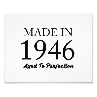 Made In 1946 Photograph
