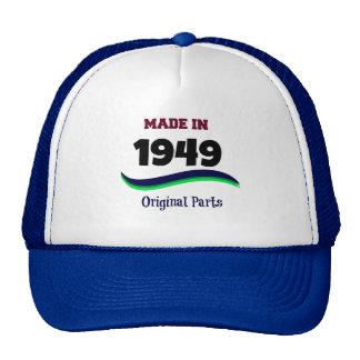 Made in 1949, Original Parts Cap