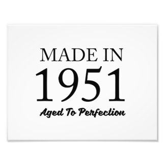 Made In 1951 Art Photo