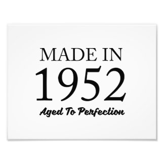 Made In 1952 Photograph