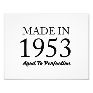 Made In 1953 Photograph
