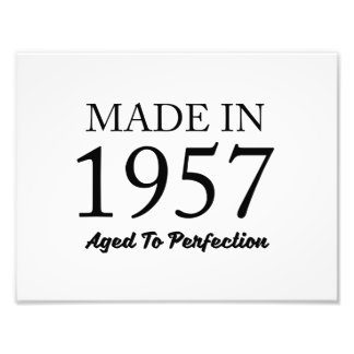 Made In 1957 Photograph