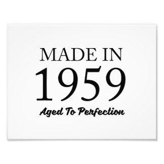 Made In 1959 Photo Art
