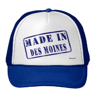 Made in Des Moines Cap