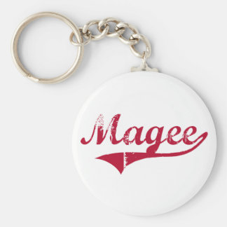 Magee Mississippi Classic Design Basic Round Button Key Ring