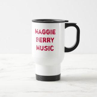 Maggie Berry Music Stainless Steel Travel Mug