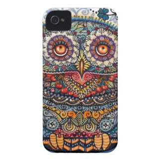 Magic graphic owl painting iPhone 4 covers
