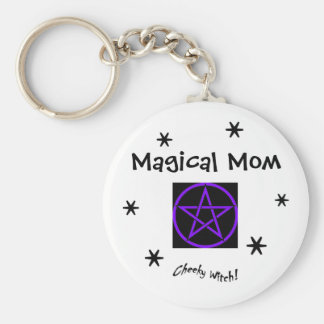 Magical Mom - Mother's Day - Witch's Keychain