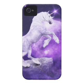 Magical Night Enchanted Unicorn Kingdom Case-Mate iPhone 4 Cases