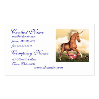 Magnificent Unicorn Pack Of Standard Business Cards