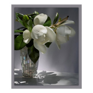 Magnolia Bouquet Print -20x24 -other sizes also