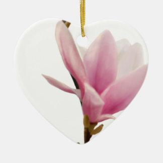 Magnolie Ceramic Heart Decoration