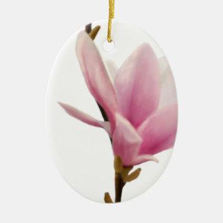 Magnolie Ceramic Oval Decoration
