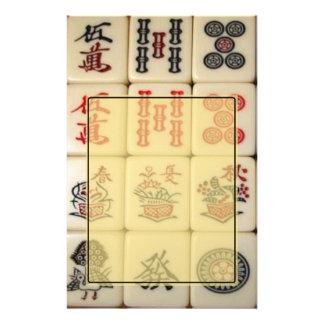 Mahjong Customized Stationery