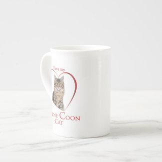 Maine Coon Cat Mug Bone China Mug
