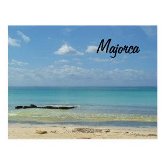 Majorca Beach - Postcard