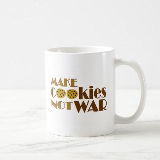 Make Cookies Not War Basic White Mug