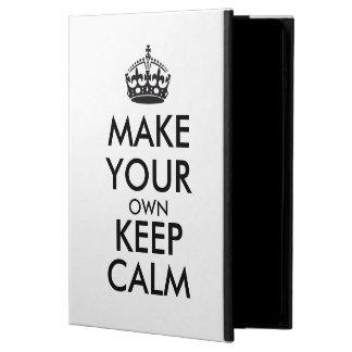 Make your own keep calm - black
