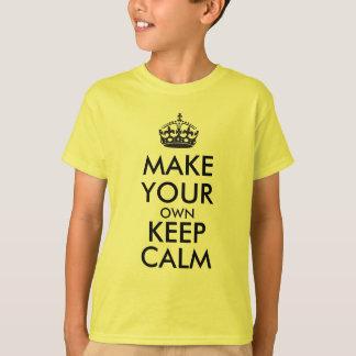 Make your own keep calm - black t-shirts