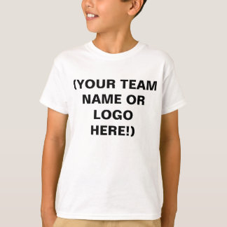 Make Your Own Youth Sports Team Practice Shirts