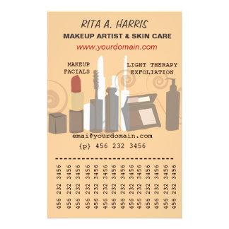 Makeup Artist  Beauty Products  Business Services 14 Cm X 21.5 Cm Flyer