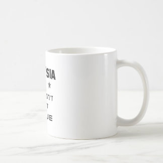 Malaysia If you don't love it, Leave Basic White Mug