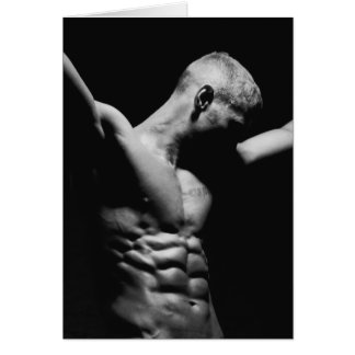 Male Form Art Notecard Note Card