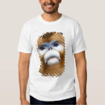 Male Golden Monkey Pygathrix roxellana, portrait T Shirts