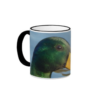 Mallard Drake on the Shores of Lake Taneycomo Ringer Mug