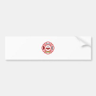 Maltese Cross Bumper Sticker