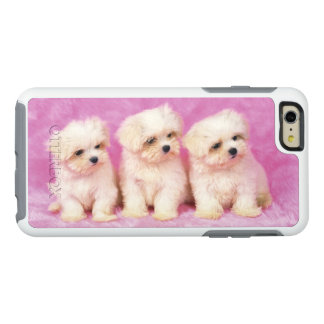 Maltese Dog; is a small breed of white dog OtterBox iPhone 6/6s Plus Case