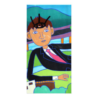 Man about town Taipei Picture Card