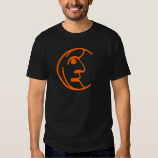 Man in the Moon Tee Shirts