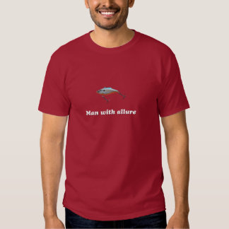 Man with allure tee shirts