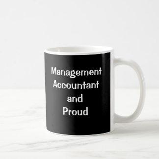 Management Accountant and Proud Basic White Mug