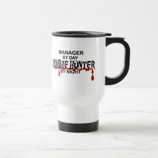 Manager Zombie Hunter Stainless Steel Travel Mug