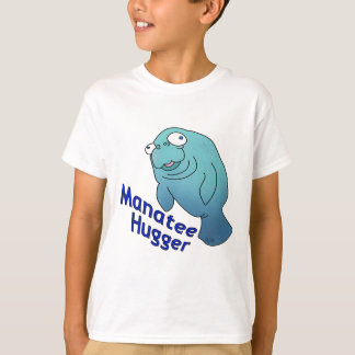 Manatee Hugger Tshirt