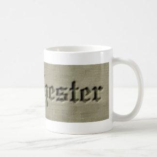 manchester co. basic white mug