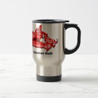 Map of Canada Travel Mug