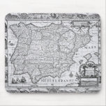 Map of Spain Mouse Pad