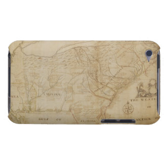 Map of the Southeastern part of North America, 172 iPod Touch Case