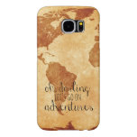 Map Oh Darling, Let's Go on Adventures Phone Case