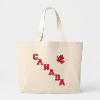 Maple Leaf Canada Jumbo Tote Bag