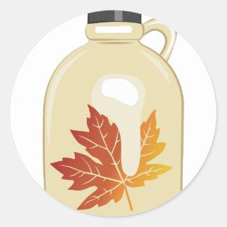 Maple Syrup Round Sticker